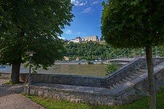 Passau Oberhaus (fuchs_ernst) Tags: nikon passau donau weitwinkel