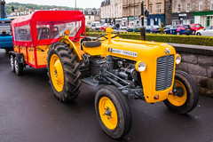 Massey Ferguson Tractor with Trailer (Briantc) Tags: scotland bute isleofbute rothesay tractor tractors tractorrally masseyferguson masseyfergusontractor