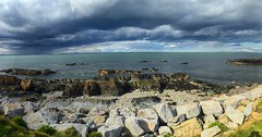 Storm clouds over Skerries (jwhiteireland) Tags: storm brewing clouds