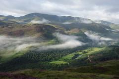 Clouds, Glen Lyon 6th Aug '16 (Hazel Strachan) Tags: munros glenlyon invervar