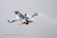 RIAT 2016 (Airpower Art) Tags: f16 fighing solo falcon raf turk fairford riat royalinternationalairtattoo airtattoo riat16