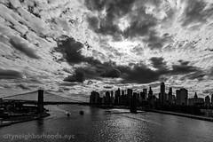 New York Skyline. (SamuelWalters74) Tags: newyork us unitedstates manhattan worldtradecenter financialdistrict brooklynbridge manhattanbridge freedomtower 1wtc oneworldtrade