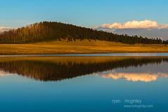 (Ryan C. McGinley) Tags: sunset arizona sky lake water clouds whitemountains crescentlake apachecounty apachesitgreavesnationalforest biglakerecreationarea