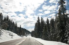 una fresca mattina di maggio (alesolofoto) Tags: usa snow clouds montana nuvole may neve viaggio whitesulphursprings