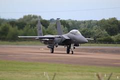 F15 91-605 (aitch tee) Tags: aircraft arrivals usairforce f15 royalinternationalairtattoo raffairford riat2016 thursday7july2016