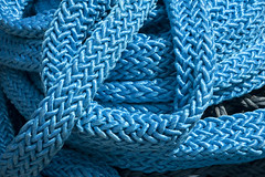 Coils of Blue (Tawny042) Tags: d700 nikon blue rope coils pattern outdoor london