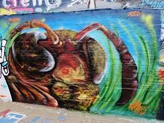Venom / Werregarenstraatje - 26 jul 2016 (Ferdinand 'Ferre' Feys) Tags: gent ghent gand belgium belgique belgi streetart artdelarue graffitiart graffiti graff urbanart urbanarte arteurbano venom martin