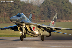 Mikoyan Gurevich Mig 29 Fulcrum (Nigel Blake, 13 MILLION...Yay! Many thanks!) Tags: polish air force mig 29 fulcrum nigelblakephotography nigelblake poland 2015 mikoyan gurevich    29 29 miskmazowiecki aircraft aviation fighter war cold coldwar