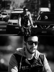 [La Mia Citt][Pedala] (Urca) Tags: milano italia 2016 bicicletta pedalare ciclista ritrattostradale portrait dittico bike bicycle biancoenero blackandwhite bn bw 872164