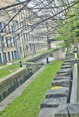 Huddersfield Narrow Canal, Huddersfield University, jcw1967 (5) (jcw1967) Tags: huddersfield uk 2014 huddersfieldnarrowcanal narrowcanal canal narrow historical industrial heritage industry hdr oloneo ope