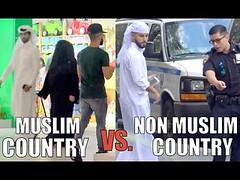 Muslim Country VS. Non-Muslim Country (HONESTY EXPERIMENT) (contfeed) Tags: duration saleh muslim views adam vlogs prank experiment social adal