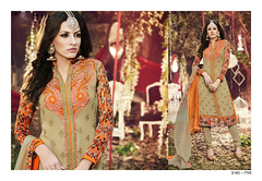 D No. 7705 (Libas B2B) Tags: georgette digital print salwarkameez