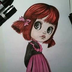 Illustration Blythedoll