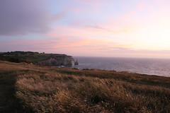 ETRETAT (Subrozza) Tags: tretat normandie normandy sunset falaises france sky