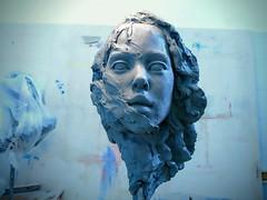 Kreshnik Aliaj  Work in progress (Il Burattino: Kreshnik. Maniera. Nero) Tags: scultura sculpture art arte escultura figura kreshnik ilburattino maniera nero firenze florence