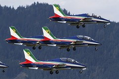 Frecce Tricolori formation T/O @ LOXZ (stecker.rene) Tags: freccetricolori mb339 formation takeoff to departure forest afb airbase loxz zeltweg hinterstoisser airpower airpower16 airpower2016 aermacchi airshow aerialdisplay flyingdisplay demo team italian air force aircraft airforce pan aeronautica militare military trainer mb339pan austria italy