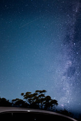 Milky Way and Shooting Star (LukerJin) Tags: star shootingstar bluemountain sydney milkyway