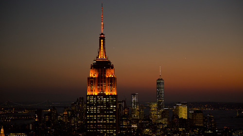 UN Women and UNiTE campaign light Empire State Building Orange to End Violence against Women