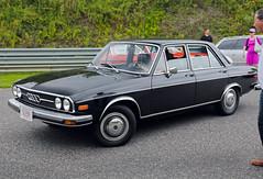 1974 Audi 100 LS Automatic (vetaturfumare - thanks for 3 MILLION views!!!) Tags: gatheringofthemarques limerock concoursdelegance audi 100 f104 100ls rob petschke pam black saloon youngtimer hubcap navkapslar