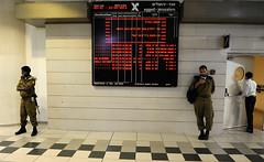 Soldaten im Busbahnhof Jerusalem