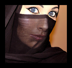 The Veil - 04 (Aozma Qureshi) Tags: woman face scarf happy freedom women peace veil muslim religion makeup mysterious faceless recognition protection powerful annoyed quran verses mysteriouswoman wayoflife headcovering covering muslimwoman harassment muslimwomen 3359 facecovering chapter33verse59 reognise preventionofharassment