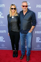 Kevin Costner and Wife on the Red Carpet at the Variety 10 Producers to Watch Brunch (Napa Valley Film Festival) Tags: red food white black film st festival carpet kevin wine 10 or cia watch valley mercedesbenz napa brunch helena variety producers greystone costner nvff nvff14