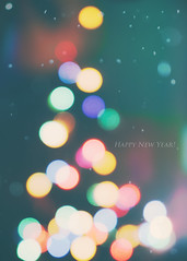 Happy New Year! (spiritualblue) Tags: holiday postcard flickrfriday flickeringlights