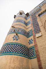 Uch Sharif (Israr Syed) Tags: blue pakistan rural sharif culture tiles punjab bibi uch jawindi