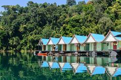 Fotoalbum Thailand-1802 (c_iglo) Tags: house lake thailand lan raft khao sok cheow