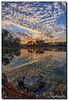 Mackerel Sky (Fraggle Red) Tags: morning sun lake reflection clouds sunrise landscape nationalpark rocks florida evergladesnationalpark campground hdr enp longpinekey 7exp canonef1635mmf28liiusm miamidadeco dphdr canoneos5dmarkiii 5d3 5diii adobelightroom5