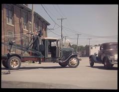 Dewey Lindhurst's Wrecker (Michael Paul Smith) Tags: truck 1930s double boom tow wrecker