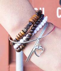 5th Avenue White Bracelet K1 P9409-1 (2)