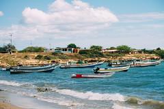 Ensenada Punta Arena (p3p510) Tags: blue sea beach boats mar venezuela playa margarita tropic manzanillo caribe bahía puntaarenas macanao nuevaesparta juangriego laasunción puntaarena republicabolivarianadevenezuela vscofilm