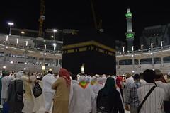 The Holy Ka'aba (Andalusia S.) Tags: city sky people black beautiful architecture night photography image picture holy saudi arabia popular haram recent mecca kabah kaaba alharam almasjid masjidil kakbah