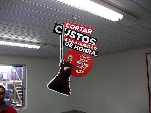 Em 29 de setembro de 2010 na Oficina da America Latina Logistica de Curitiba.