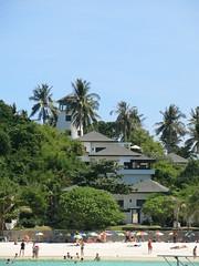 the Racha Island lighthouse (ClemsonWendi) Tags: thailand rayaisland rochaisland