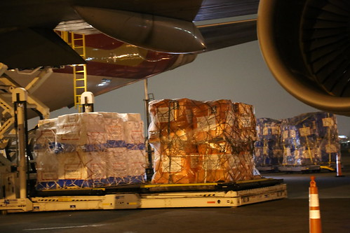 Ebola Facility Modules, Direct Relief, Airlift, LAX 104