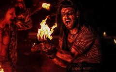 Burnt Out Punks - El Generale #red #23ccfbt (Subdive) Tags: red fire fireshow burntoutpunks 23ccfbt