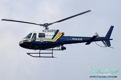 N296PD (PHLAIRLINE.COM) Tags: city philadelphia flight american airline planes philly airlines phl spotting eurocopter bizjet generalaviation spotter philadelphiainternationalairport as350b2 kphl 2013 of n296pd