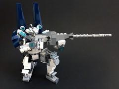 Lego Custom Mecha: Caliburn (funnystuffs) Tags: scale robot lego minifig custom ideas mecha mech minifigure caliburn funnystuffs