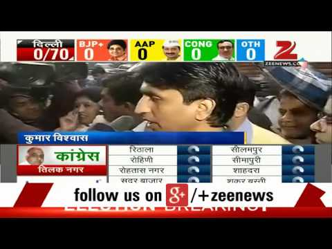 Delhi Assembly election results: Kumar Vishwas reaches AAP office ahead of votes counting