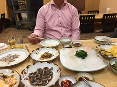 Dinner in Gwangju