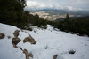 Snow on Mt. Meron (alon_gutf) Tags: trees winter sky white mountain snow green clouds landscape israel mtmeron