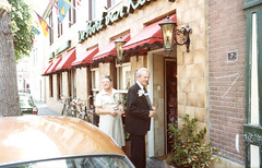 Back in time - 1978 (gill4kleuren - 11 ml views) Tags: pictures old family portrait woman netherlands dutch vintage parents brothers album scanned 1978 40 visite noordwijk getrouwd oldscanned sistersl