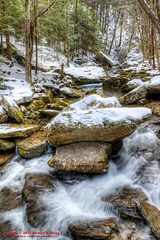 Big Possum Creek - Possum Creek Gorge Section of the Cumberland Trail (mikerhicks) Tags: winter usa ice geotagged unitedstates hiking tennessee hdr flattopmountain soddydaisy photomatix cumberlandtrail tennesseestateparks cumberlandtrailstatepark bigpossumcreek canon7dmkii sigma18250mmf3563dcmacrooshsm geo:lat=3535461833 geo:lon=8517282667 possumcreekgorgesection threegorgessegment