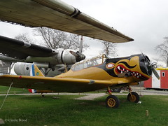 Ailes Anciennes Toulouse (Old wings) - North American T-6G Texan (Fontaines de Rome) Tags: haute garonne toulouse ailes anciennes north american t6g texan
