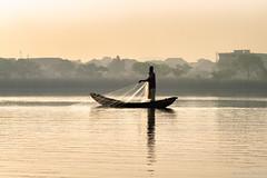 Fisherman (Irene Becker) Tags: africa morning fishing fisherman westafrica nigeria abuja blackafrica arewa northernnigeria jabilake abujafct nigerianimages nigerianphotos imagesofnigeria northnigeria