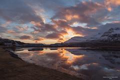 Morning in Reydarfjordur (*Jonina*) Tags: iceland ísland reydarfjordur reyðarfjörður morning morgunn sky himinn clouds ský reflection speglun jónínaguðrúnóskarsdóttir 500views 25faves 1500views
