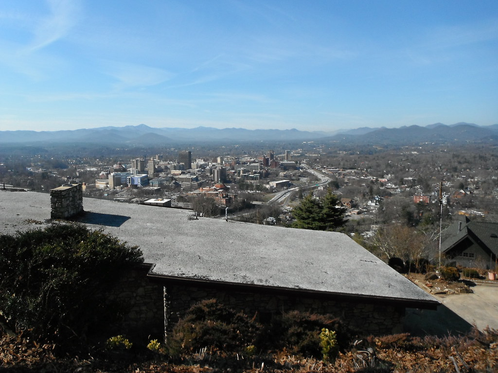Topo above Asheville