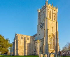 Christchurch Priory, Dorset - Early Sunset (JackPeasePhotography) Tags: christchurch church abbey nikon cathedral gothic dorset priory christchurchpriory
